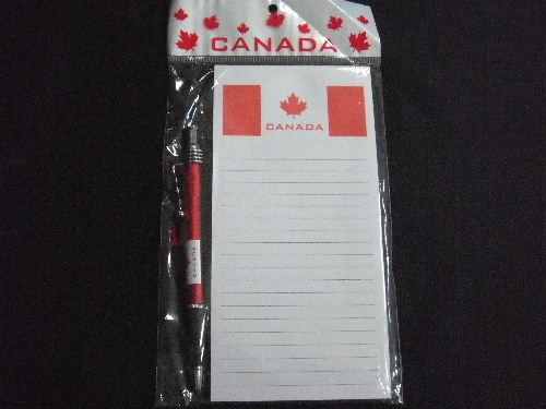 カナダのメモ帳