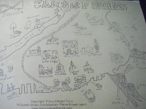 ハリファックス マップ