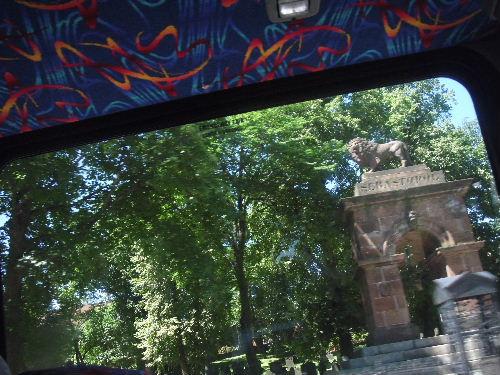 セントポールズ墓地のライオン